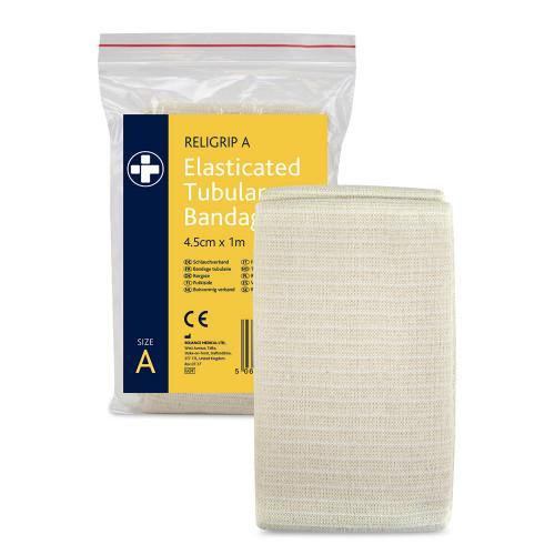 Religrip Elasticated Tubular Bandage Size A 1m